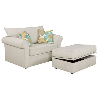 Overnight Sofa 6133-T-ECO-PL Edgar Twin Sleeper Sofa Upholstery