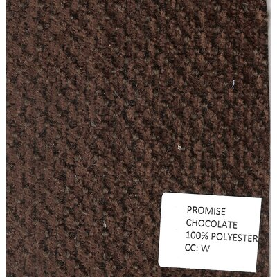 Corette Traditional Promise Sleeper Upholstery: Chocolate, Mattress Type: Memory Foam, Sleeper Size: Full