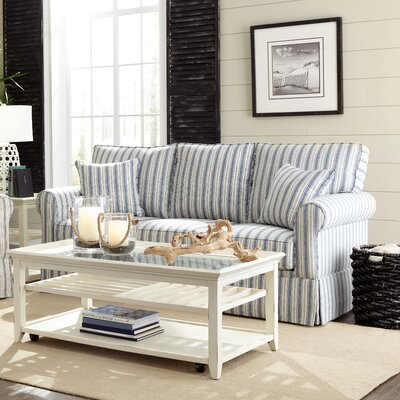 Eulah Sleeper Sofa Upholstery: Brunswick Denim, Mattress Type: Memory Foam