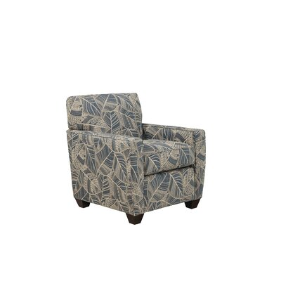 Sagar Track Armchair Body Fabric: Dudley Bluff