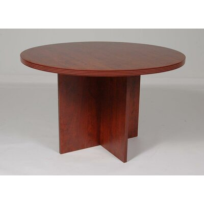 Sinclair 48 Circular Conference Table Finish: Cherry