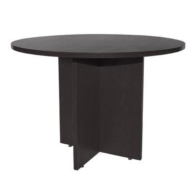 Sinclair 48 Circular Conference Table Finish: Espresso
