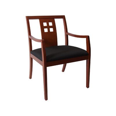 Rex Wooden Armchair Finish: Cherry