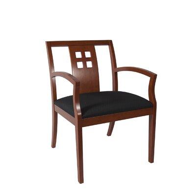 Rex Guest Chair Seat Color: Black