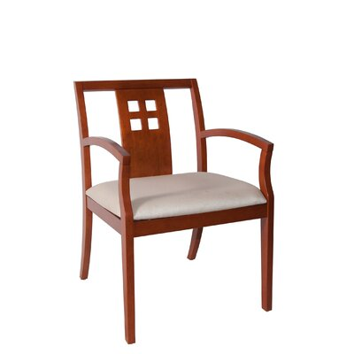 Rex Guest Chair Seat Color: Beige