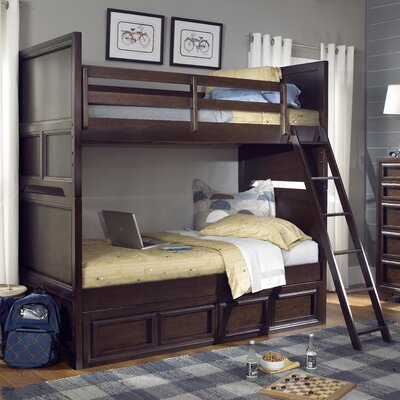 Jamey Bunk Bed Size: Twin over Full