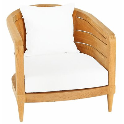 Limited Outdoor Lounge Chair Cushion Fabric: Canvas Teak