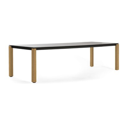 Machar 280 Dining Table Finish: Anthracite / Black HPL