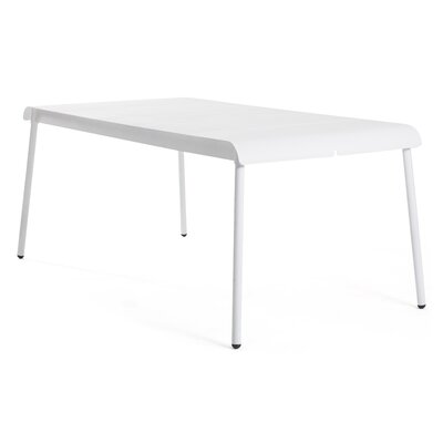Corail 180 Dining Table Finish: Pastel Blue