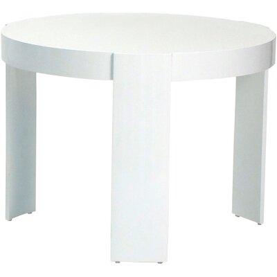 Madison Side Table Table Size: Large, Finish: White