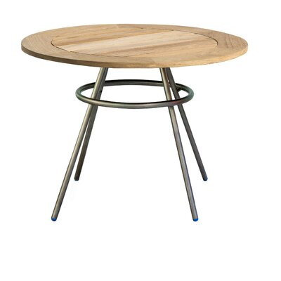 Delancey Comet Table Finish: White, Table Size: Small
