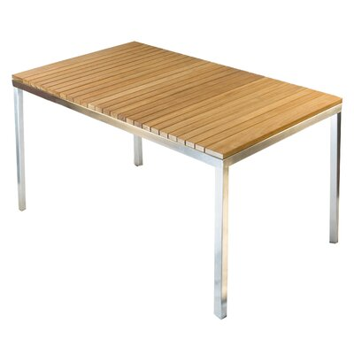 Grace Dining Table Finish: Aluminum