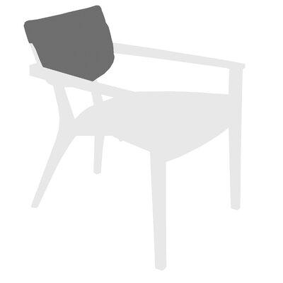 Diuna Outdoor Lounge Arm Chair Back Cushion Fabric: Canvas Natural