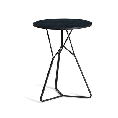 Serac 42 End Table Finish: Anthracite/Nordic Black