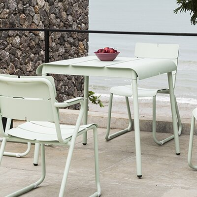 Corail 83 Dining Table Finish: Pastel Green