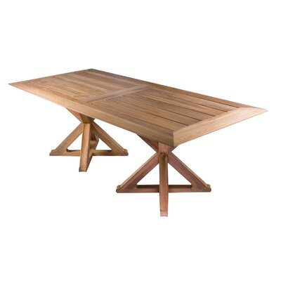 Outdoor Teak Dining Table - Product photo