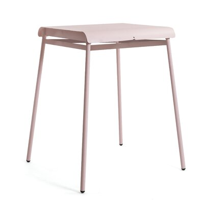 Corail Bar Table Finish: Pastel Pink