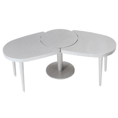 Madison Coffee Table Finish: White