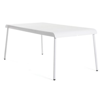 Corail 180 Dining Table Finish: White