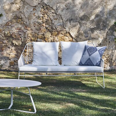 Wonderful Full Woven Loveseat Cushion Frame Product Photo