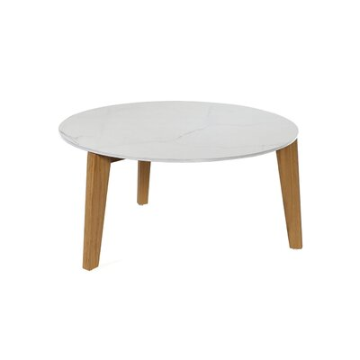 Attol Coffee Table Size: Large, Color: Ceramic White
