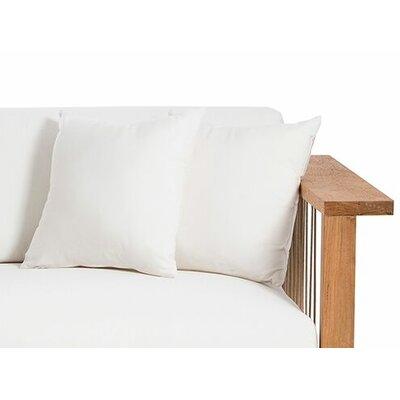 Maro Throw Pillow Color: Canvas Natural