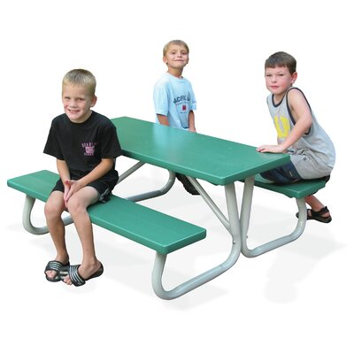 Southern Piknik Lil Picnic Table Finish: Emerald Green