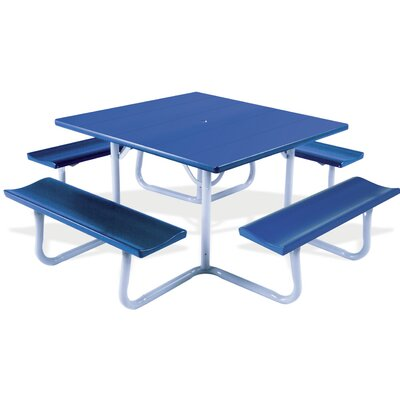 Southern Piknik Picnic Table Finish: Royal Blue