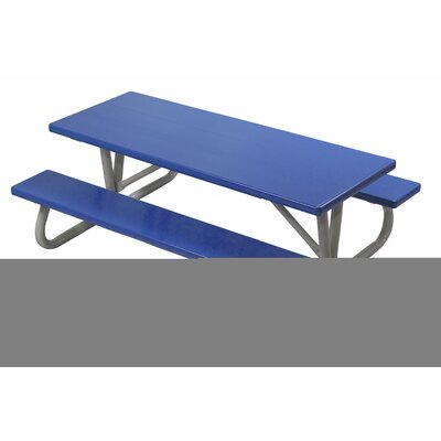 Southern Piknik Lil Picnic Table Finish: Royal Blue