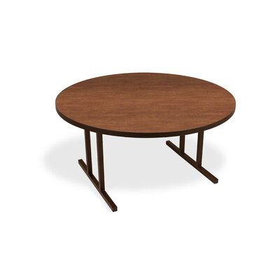 iDesign Circular 29.75H x 60W x 60L Conference Table Leg Finish: Wild Cherry, Leg Finish: Matte Walnut