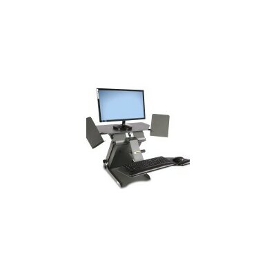 TaskMate Executive Sit Stand Desk Product Image 5812