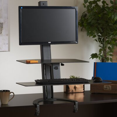 TaskMate Go 42 H x 30 W Standing Desk Conversion Unit