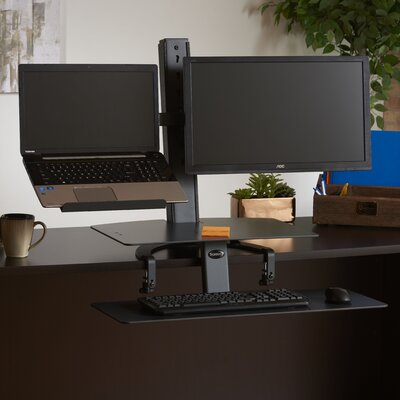 TaskMate Go 42 H x 30 W Desk