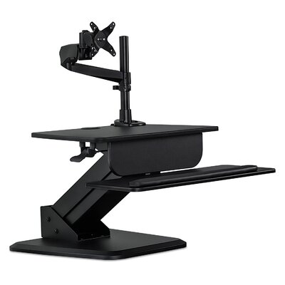 Sit-Stand Converter Height Adjustable Workstation