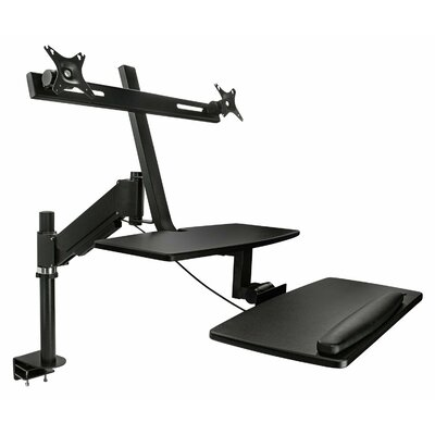 Sit-Stand 30H x 16W Standing Desk Conversion Unit