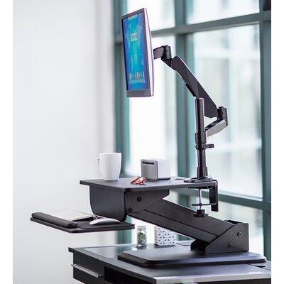 Sit-Stand Converter Height Adjustable Workstation