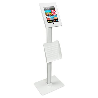 POS Kiosk Tablet Mounting System Finish: White