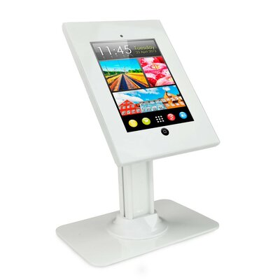 Anti-Theft Kiosk iPad Holder Accessory Finish: White