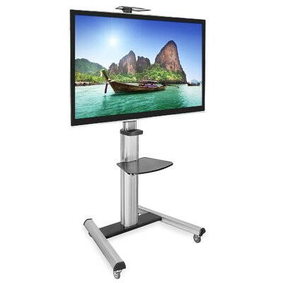TV Cart Mobile Height Adjustable Floor Stand Mount 30-70 LCD/Plasma/LED