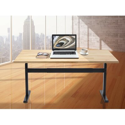 Sit-Stand 44 H x 12 W Desk Leg and Base
