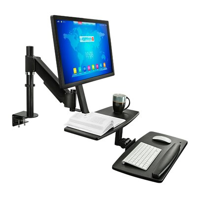 Sit-Stand Height Adjustable Workstation