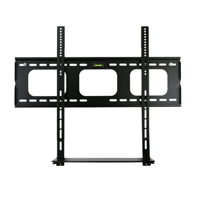 Low Profile Flat Panel TV and Glass Entertainment Center Combo Fixed Wall Mount 32 -60 LCD/Plasma/LED