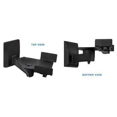Side Clamping Bookshelf Universal Wall Speaker Mount MI-SB37