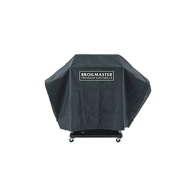 Broilmaster Premium Grill Cover Fits Grill Size: Grill w/One Side Shelf