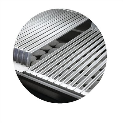 Cast Stainless Steel Cooking Grids for Size 3 Grill (Set of 3)