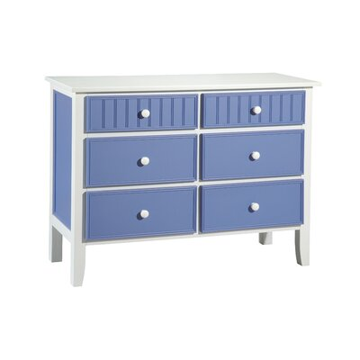 Furniture leasing 6 Drawer Dresser Finish: White and ...