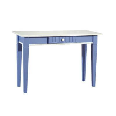 Cheap Papila Design Console Table in White & Bahama Blue (PDS1086)