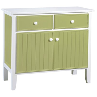 Papila Design Buffet Table in Lime Green & White at Sears.com