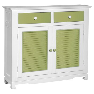 Cheap Papila Design Sideboard in White & Lime Green (PDS1022)