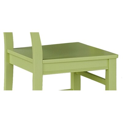 Easy furniture financing Side Chair Finish: Lime Green...
